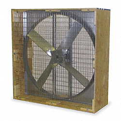 Exhaust Fan, 48 In, 230/460 V, D/D