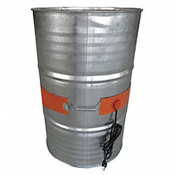 Drum Heater, 55Gal, 8.7A, 115V, L66 3/4In