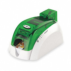 ID Card Printer, Single, USB and Ethernet