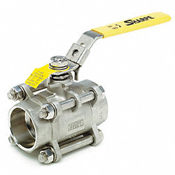 SS Ball Valve, Socket, 2 In