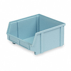 Stack & Hang Bin, W 8 3/4, D 9 1/4, Blue