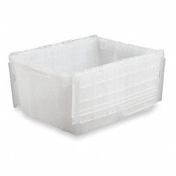 Attached Lid Container, L 26-9/10, Clear