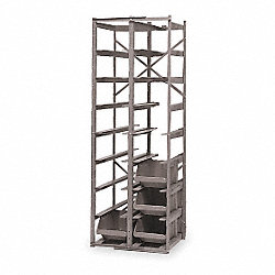 Container Rack, Includes (16) 3CLT4