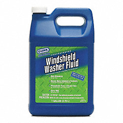 Wndshd Washer, Concentrate, 128 oz, Blue