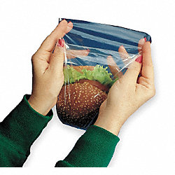 Sandwich Bag, 7 x 7 In., Pk 1000