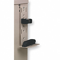 Sharps Bracket, 9 H x 2-1/4 In W, Taupe