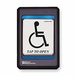 Handicap Access Switch, Black Bezel