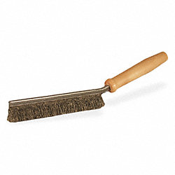 Elvtr Track Brush, 1-1/4 In Trim, Stl Wire