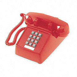 Standard Desk Phone, Red