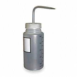 Wash Bottle, Natural, Polypropylene