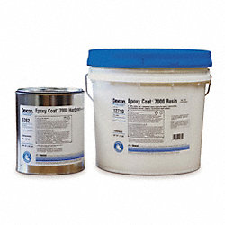 Floor Coating, 2 gal, Light Gray