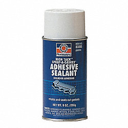 Gasket Sealant, High Tack, 9 Oz Can, Yellow