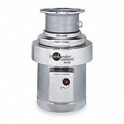Waste Disposer, Commercial, 2 HP