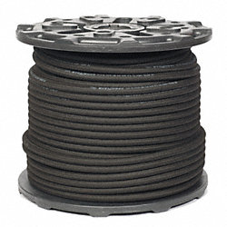 Air Hose, Push-On, 3/8 In IDx500 Ft, Black