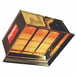 Commercial Infrared Heater, NG, 90, 000
