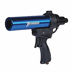 Pneumatic Caulk Gun, 10 oz., Aluminum