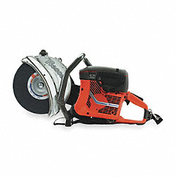 Rescue Saw, 2-Cycle Gasoline, Wet/Dry Cut