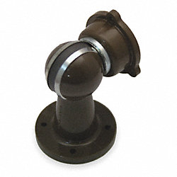 Door Holder, Magnetic, Brown, Screw In