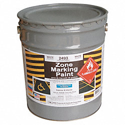 Marking Paint, White, 5 gal.