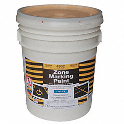 Marking Paint, Yellow, 5 gal.