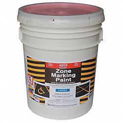 Marking Paint, Red, 5 gal.