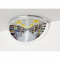 Half Dome Mirror, 18In., Polycarbonate
