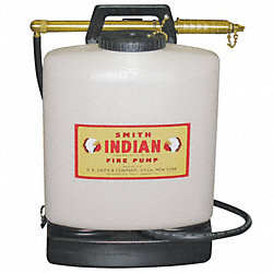 Wildland Fire Pump, 5 Gal, Poly