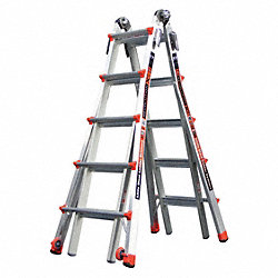 Telescoping Ladder, 19 ft., IA, Aluminum