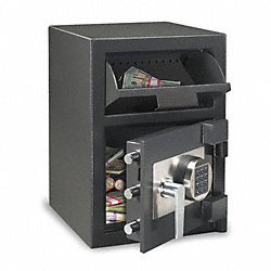 Depository Safe, 1.09 Cu. Ft., Time Delay