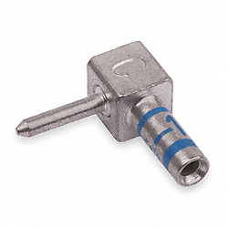 Flag Connector, 16 to 14 AWG, Blue
