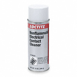 Electrical Contact Cleaner, 12 Oz, Clr