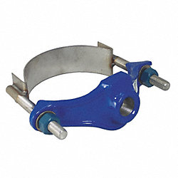 Saddle Clamp, 2 In, Outlet Pipe 3/4 In