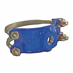 Saddle Clamp, Double Bale, 1 1/4 In Outlet