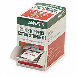 Pain Stoppers, Extra Strength, Pk 250