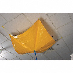 Roof Leak Diverter, 5 ft. L, Yellow