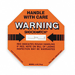 GForce Label, Handle with Care, 75G, PK 50
