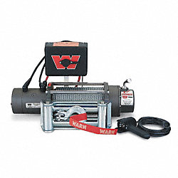 Electric Winch, 10 fpm, 6000 lb., 12VDC