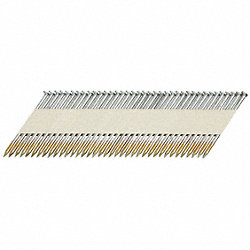 Framing Nail, 0.131 x 3 1/2 In, Pk 2500