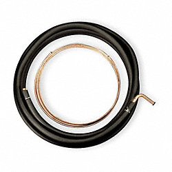 Refrigerant Line Set, Copper Roll, L 50 Ft
