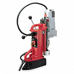 Magnetic Drill Press, 350RPM, 3/4 In Steel