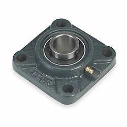 Mounted Ball Bearing, Flange, 1 In Bore