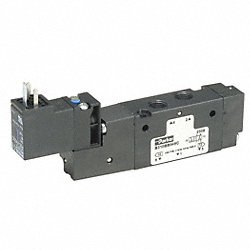 Solenoid Air Valve, 4 Way, 2 Pos, 1/4 NPT