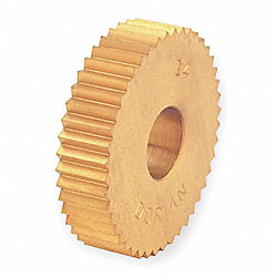 Knurl Wheel, M Series, STR, 1 In OD, 25 TPI