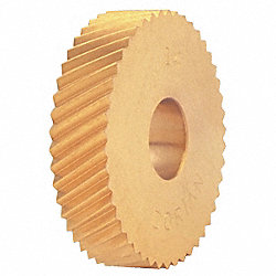 Knurl Wheel, D Series, LH DIAG, 1/2, 30 TPI