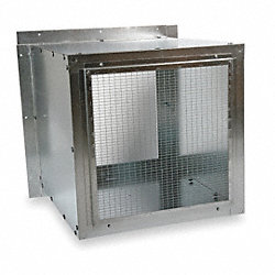Wall Housing, Galv Steel, For 36 In Fan
