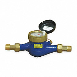 Flowmeter, Pulse, 52 GPM, 1 In.