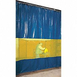 Welding Curtain Partition Kit, 9 x 10 Ft