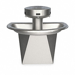 Washfountain, Semi-Circular, 110/24 VAC