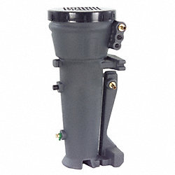 Oil Water Separator, 65 CFM, 1/2 In Inlet