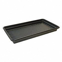 Spill Tray, 4-3/4 In. H, 36 In. L, 36 In. W